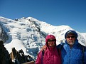 Hoyt and Shellie at Mont Blanc