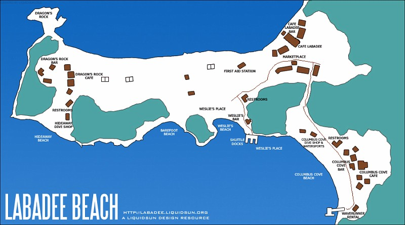 the gallery for gt labadee map