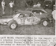 22-Bobby Foster & 47-Dale Carmichael mobile 8-17-68