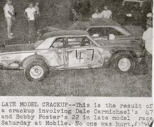 22-Bobby Foster & 47-Dale Carmichael mobile 8-17-68