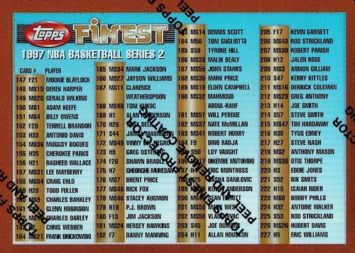 1996-97 Finest Refractor #246 (1)