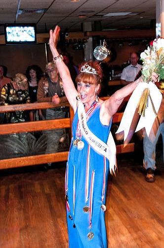 1st Place Winner - Ms Disco America