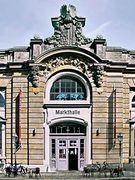 Eingang Markthalle
