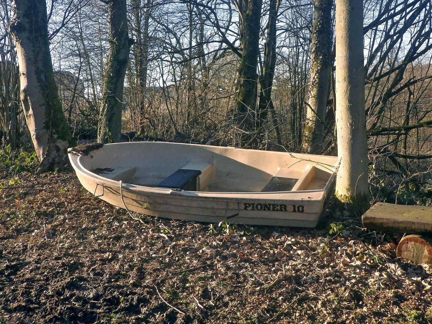 Boot am Klosterteich