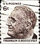 USA 1966-81 Franklin Roosevelt vertical