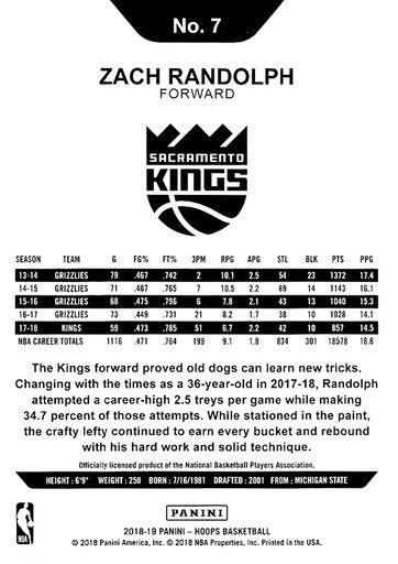 2018//19 Hoops Basketball Cox #145 Milos Teodosic