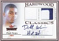 Jersey Dorell Wright 2004-05 Fleer Throwbacks Hardwood Classics Patch