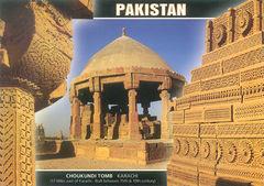 Pakistan - Choukundi Tomb