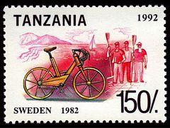 Historie of bikes - Sweden 1982