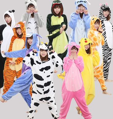 animal onesies for adults