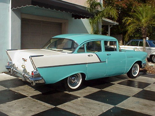Original and Iconic – 1957 Chevrolet 150 Sedan | Original Paint Cars