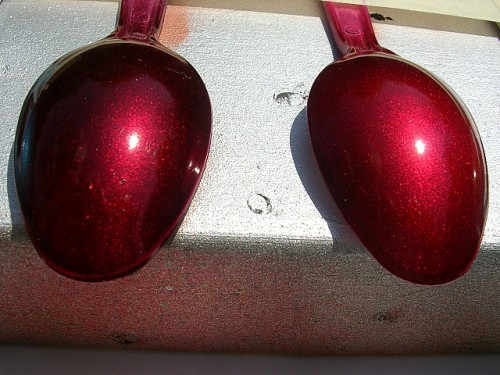 Clear Red Spray Paint
