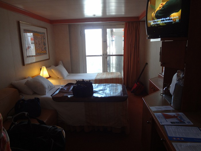 Inside Cabin With French Doors Cruise Critic Message
