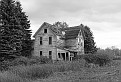 Abandoned Farmhouse #2 - Black and White