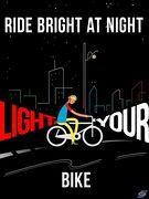 Ride bright at night
