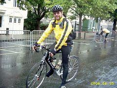 Manfred am Start in Trondheim