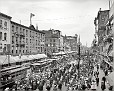 "1900 | Buffalo, New York. ""Labor Day parade, Main Street"""