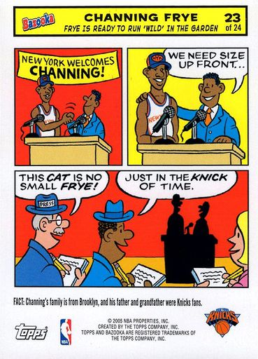 2005-06 Bazooka Comics #23