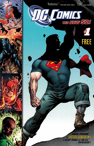 DC Comics The New 52 #1