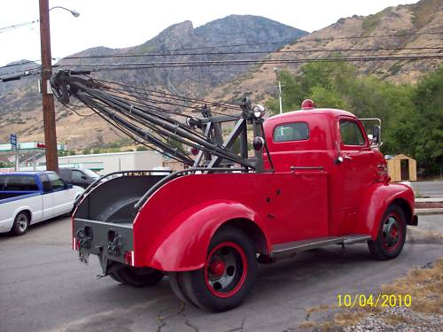 1951 ford coe tow - photo #18