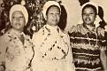Simone O. Duvalier entourée de ses deux filles Marie Denise et Simone Duvalier.