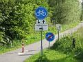 De kortste fietspad van de wereld!  :o)