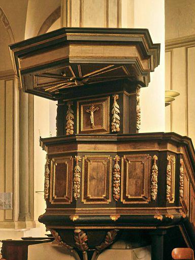 Kanzel in der Abteikirche