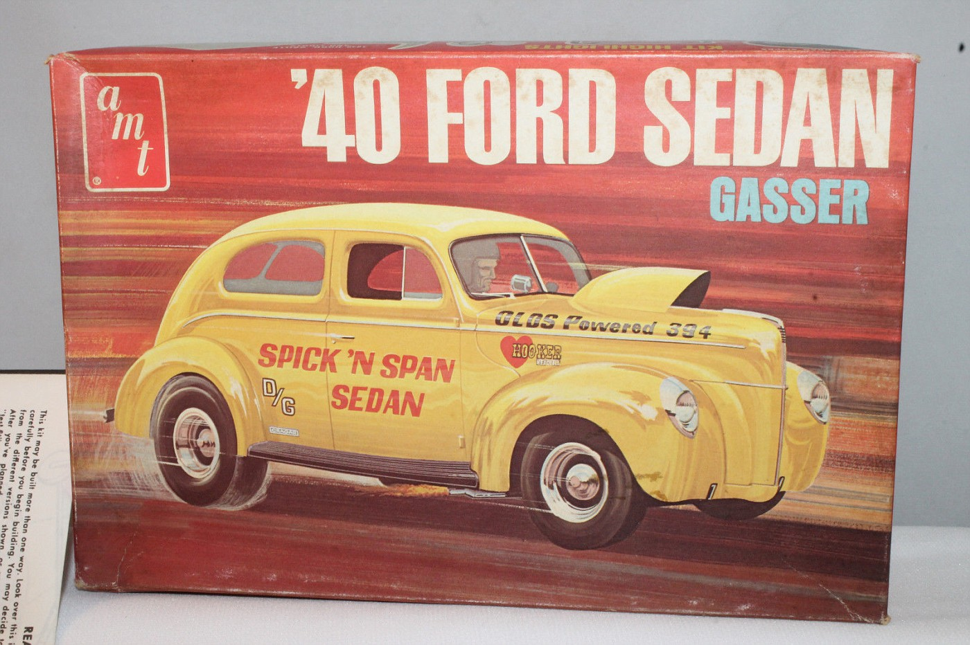 Photo: AMT 1940 Ford Sedan Gasser | AMT 1940 Ford Coupe