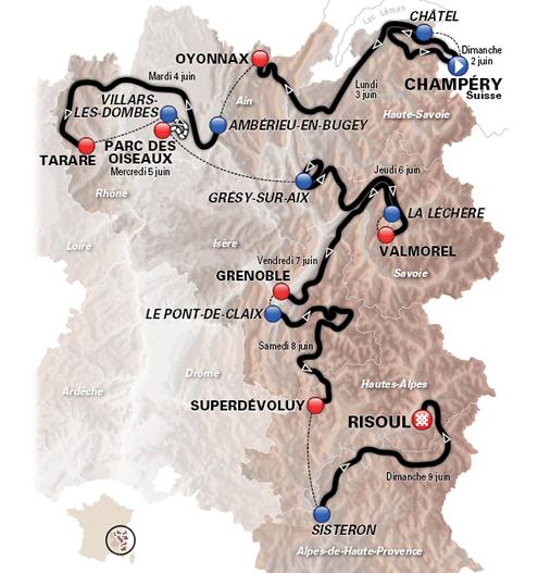 Criterium du Dauphine Route