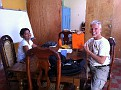 The kitchen... In Casa Xalteva, my Spanish School...  Granada,  Nicaragua...